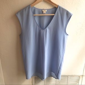 COPY - J Crew Cap Sleeve Shirttail Top | Size 6
